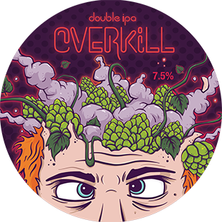 Abbey Brewery Overikill IIPA